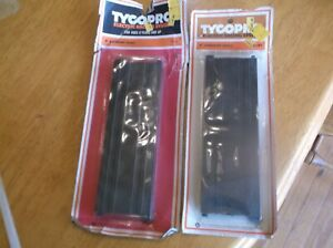 """TYCOPRO ELECTRIC RACING TRACK  9""""  STRAIGHT PAIR  ---  LOT OF  10 PACKS"""