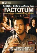 FACTOTUM Movie POSTER 27x40 B Matt Dillon Lili Taylor Fisher Stevens Marisa