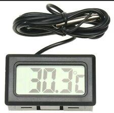 termometro digitale con sonda sensore temperatura Mini acquario frigo