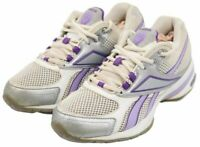 Reebok SmoothFit Womens Ladies White Purple Training Sneakers Shoes Size 7