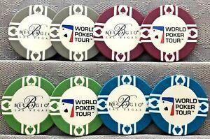 BELLAGIO LAS VEGAS WPT - WORLD POKER TOUR CHIPS & CARD GUARD/PROTECTORS