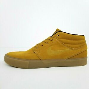 Nike SB Zoom Janoski Mid RM Wheat Gold AT7324-700 New Men's Shoes No Lid