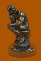 Bronze Sculpture **SALE** Elegant Rodin Rodin`S The Thinker Art Deco Statue