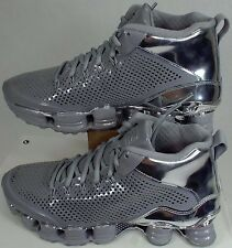 "Mens 6 NIKE""Shox TLX Mid SP""Reflect Silver Chrme Shoes$200 677737-003 Womens 7.5"