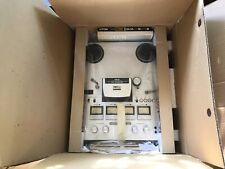 Beautiful Akai GX-630D SS Reel to Reel Tape Deck + Hubs Brand New Original Pack