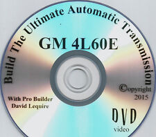 Firebird/ Camaro / Corvette 4L60E Automatic Transmission  Video DVD