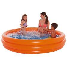 Wehncke Pool Orange 200 x 39 cm Planschbecken Schwimmbecken Schwimmbad Swimming