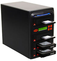 "SySTOR 1:3 SATA 3.5"" 2.5"" Hard Disk Drive HDD/SSD Duplicator Cloner Wipe-90MB/s"
