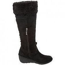 New Authentic Guess Knee High Boots By Marciano Jefter Black Suede 8