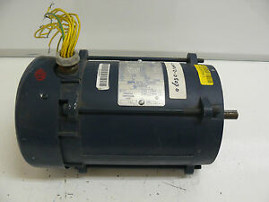 LEESON A6T17XC23F EXPLOSION PROOF MOTOR 3/4 HP CAT NUMBER 111935.00 NEW
