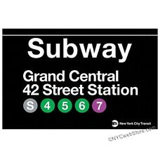 Grand Central Station Subway Magnet Souvenir from NYC Online Gift Store