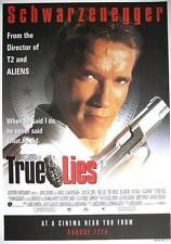 TRUE LIES / ARNOLD SCHWARZENEGGER FILM POSTER