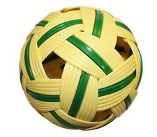 SEPAK TAKRAW Kick Volleyball Training Sport Ball Game (GREEN)