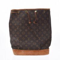 LOUIS VUITTON Monogram Noe purse Brown M42224 bags 800000085777000