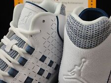 Nike Jordan Illusion, White / French Blue, Nike Dunk Sole, Size 10.5