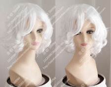 new wig white pear head short curly hair fluffy fashion wig