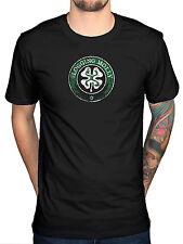 Official Flogging Molly Shamrock Logo T-Shirt Irish Punk Rock Indie Dave King