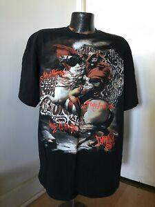 Black SS Cotton Ecko T Shirt Horse Rider Graffiti Can Writing All Wrongs 2XL