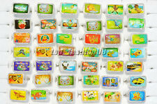 20Ps Wholesale Mixed Lots Picture Cartoon Children Resin Lucite Rings 13-16mm