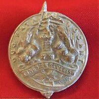 COPY WW1 BRITISH ARMY TYNESIDE SCOTTISH 1ST TYPE UNIFORM CAP BADGE