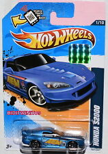 HOT WHEELS 2012 HW PERFORMANCE HONDA S2000 #1/10 BLUE FACTORY SEALED