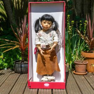 "Gotz Puppenmanufaktur Dolls - 27½"" Zanzi - Joke Grobben - Boxed!"