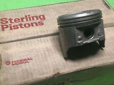 1966-1984 Chevy Pontiac Federal Mogul 250 Cast 403P 6 Pistons Set Standard NOS
