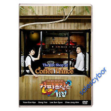 Coffee Prince No. 1 Korean Drama (5 DVD) Excellent English Subs & Quality.