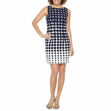 R & K Originals Sleeveless Ombre Polka Dot Sheath Dress Size 4 New without Tags