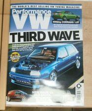 Performance VW magazine Jun 2021 3rd Gen Golf + Bagged 2k  van or ABF 16V pickup