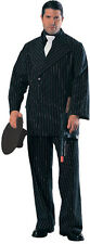 Mafia Gangster Pinstripe Suit Mens Halloween Costume The Don Medium Al Capone