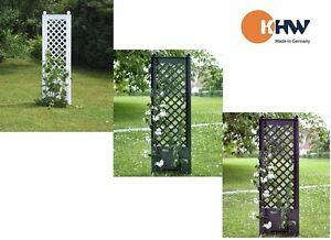 1 Spalier 43 cm mit Erdspieß Pergola Pflanzbogen Garten KHW Sichtschutz Neu