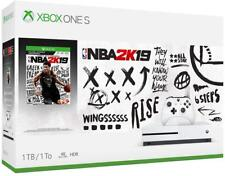 Xbox One S 1TB Console - NBA 2K19 Bundle Brand New