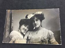 Vintage Postcard: Actress #93: Miss Grace & Sybil Arundale: Raphael Tucks