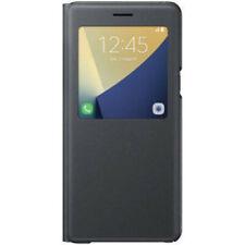 Samsung Galaxy Note 7 S-View Flip Cover - Black (IL/RT6-13491-GH69-27887A-NIB)