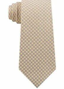 Michael Kors Mens Silk Business Neck Tie Yellow