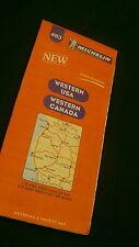 Michelin Western  USA &  Canada road map  No 493 1998-99 E209