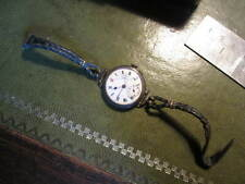An old hallmarked solid silver trench style watch for restoration 4