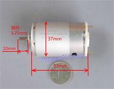 555 DC Motor Permanent Magnet Motor 12V 24V 36V 1800-5400RPM