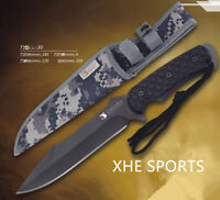 JL 030 Survival Military Bowie Camping Hunting Tactical Pig Sticker knife Au