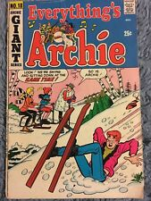 Archie Comics Everything's Archie #18 Comic Book 1972