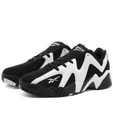{FY9780} Reebok Kamikaze II Low Shawn Kemp Black Men's Basketball Sneakers *NEW*