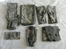 Lot of 7 Hunting, TACTICAL POUCHES, Digital Camo