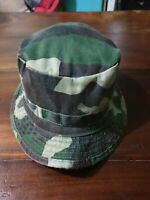 Rum Jungle Camo Camouflage Bucket Hat Cap (A6)