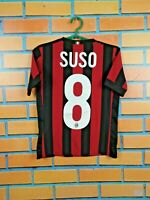 Suso Milan Jersey 2017 2018 Home Youth 9-10 Shirt Adidas Football Soccer AZ7066