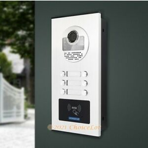 XC111-6 Camera ID Access For HOMSECUR Video&Audio Smart Doorbell 6 Families