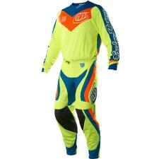 34 Troy Lee Designs TLD SE Air Corsa Flo Yellow Off Road MX Gear Set Large