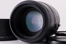 NEAR MINT Minolta AF 100mm F/2.8 Macro Lens For Minolta Sony A Mount #245