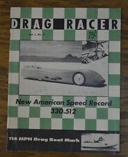 1959 DRAG RACER MAGAZINE 5 MICKEY THOMPSON STREAMLINER BONNEVILLE POWER BOAT VTG
