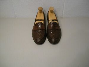 COLE HAAN BRAGANO DRESS/CASUAL LOAFERS  SIZE 11.5-B.....MADE IN ITALY